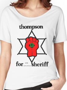 Thompson for Sheriff 2 Women's Relaxed Fit T-Shirt