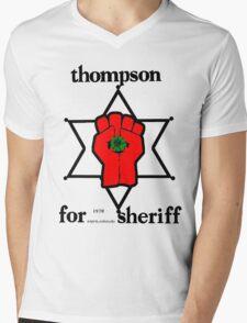 Thompson for Sheriff 2 Mens V-Neck T-Shirt