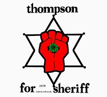 Thompson for Sheriff 2 Mens V-Neck T-Shirt