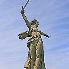 """Monument """"Mother-Russia Calls For"""", Volgograd by Sofia Solomennikova"""