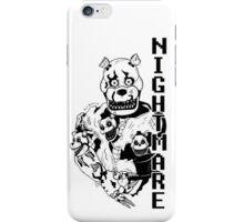 Nightmare Freddy iPhone Case/Skin