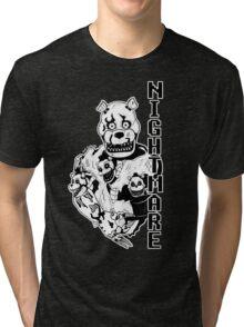 Nightmare Freddy Tri-blend T-Shirt