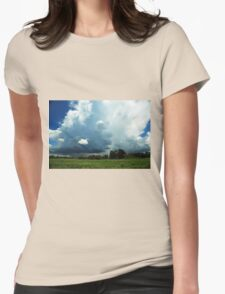 heading into the storm Womens T-Shirt