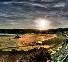 """Sunset at St. Brelade's"" by Bradley Shawn  Rabon"