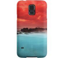 Red Sky at Morning Samsung Galaxy Case/Skin