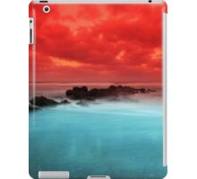 Red Sky at Morning iPad Case/Skin