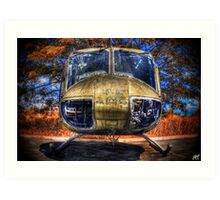 The Huey Art Print