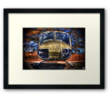 The Huey Framed Print