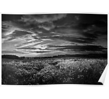 Stoughton Sunset BW Poster