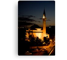 Midnight Minaret Canvas Print