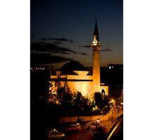Midnight Minaret Photographic Print