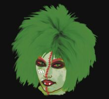 Halloween for fun--Witch green wig  by Marilyns
