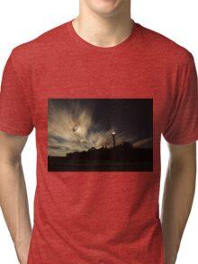 Point Ybel Lighthouse 2 Tri-blend T-Shirt