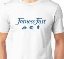 Fatness Fast Parody - Dark Text Unisex T-Shirt