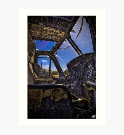 The Cockpit Art Print