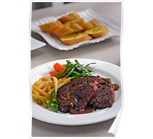 Kobe Sirloin Steak Poster
