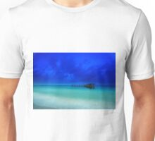 the old shipping pier Unisex T-Shirt