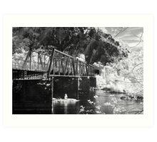 Bridge over the Potomac Art Print