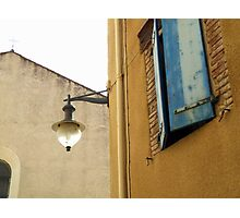 Lamp Post of Collioure Photographic Print