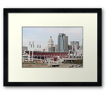From Way Out In The Outfield Framed Print