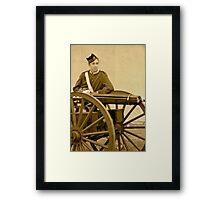 Soldier Boy Framed Print