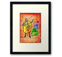 Vintage Beetle Juice Framed Print