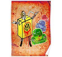 Vintage Beetle Juice Poster