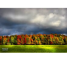 """Clouds of Fall""  #4 Photographic Print"