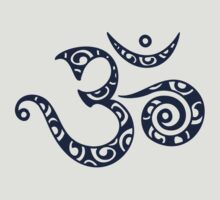 OM MANTRA - Buddhism - Symbol of spiritual strength  by nitty-gritty