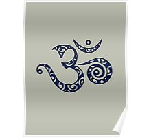 OM MANTRA - Buddhism - Symbol of spiritual strength  Poster