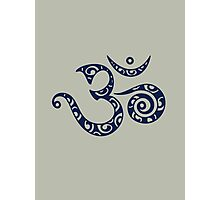 OM MANTRA - Buddhism - Symbol of spiritual strength  Photographic Print