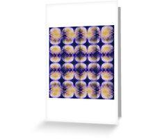 abstract biology Greeting Card