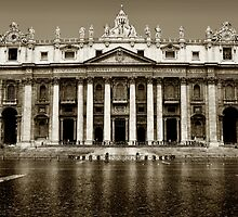 St. Peters Basilica by Charlie Reds