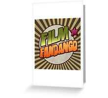 Film Fandango Logo - CLASSIC Greeting Card