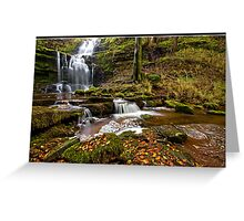 Autumn at Scaleber Force  Greeting Card