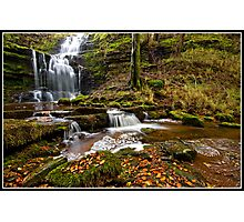 Autumn at Scaleber Force  Photographic Print