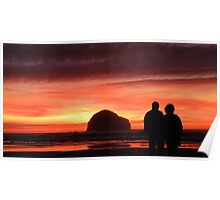 Cornwall: Loving the Sunset Poster