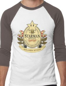Starman Original:  Golden Stout Men's Baseball ¾ T-Shirt