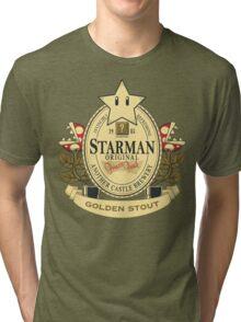 Starman Original:  Golden Stout Tri-blend T-Shirt