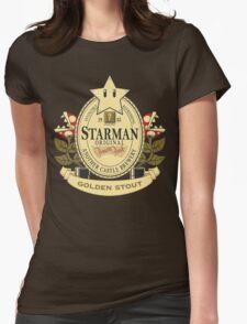 Starman Original:  Golden Stout Womens Fitted T-Shirt