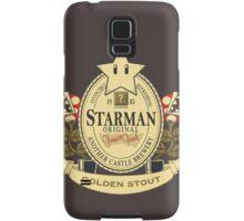 Starman Original:  Golden Stout Samsung Galaxy Case/Skin