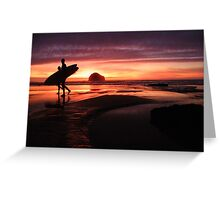 Cornwall: Calling it a Day Greeting Card