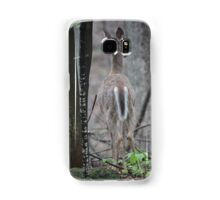 Deer Looks in Ravine Samsung Galaxy Case/Skin