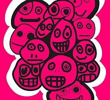 smiley's three by Jasper Sman