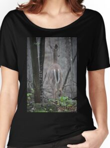 Deer Looks in Ravine Women's Relaxed Fit T-Shirt