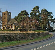 St Oswald's, Leathley by WatscapePhoto