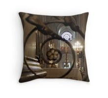 Notre Dame - rose window Throw Pillow