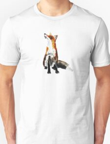 The Fox Woodland Wild Animal Acrylics Painting Unisex T-Shirt