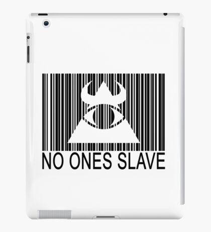 Illuminati - No Ones Slave iPad Case/Skin