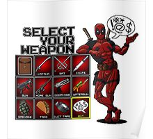 Deadpool Weapon Poster